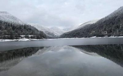 Je me suis baignée dans un lac gelé
